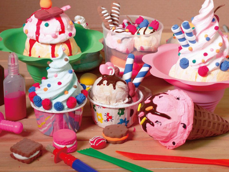 Ice Cream Clay Kit For Kids