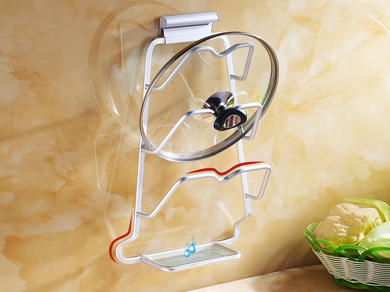 Wall Mounted Pot Lid Organiser