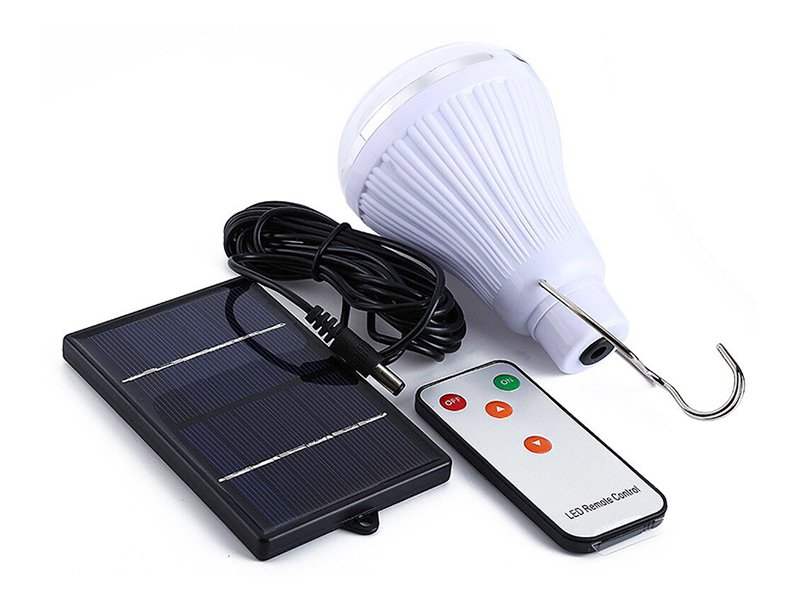 Solar LED Lighting System For Camping