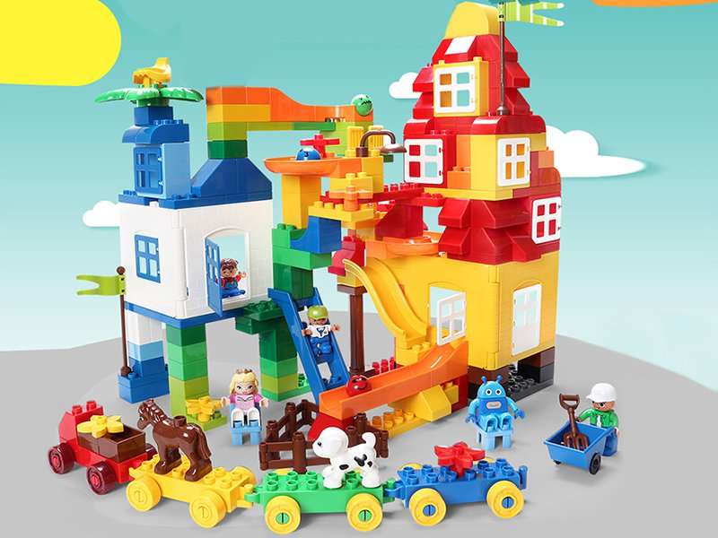 200Pc Playground Building Blocks