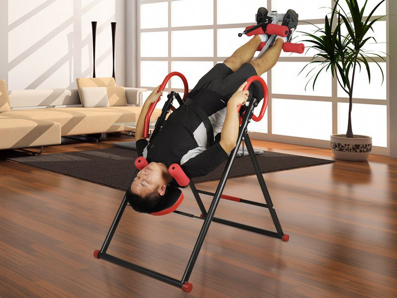 Foldable Inversion Table for Exercise