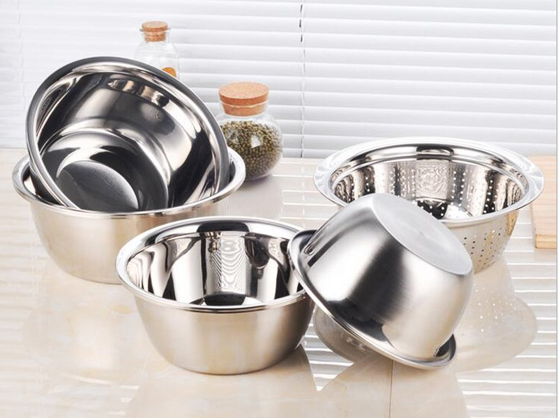 5Pc Stainless Steel Bowl Set