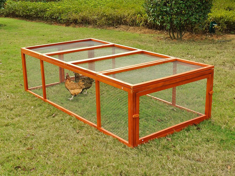 Chicken Rabbit Run Cage Coop Hutch Pen