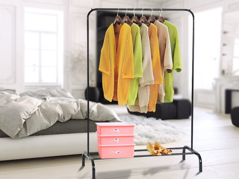 Free Standing Clothes Rack Organiser
