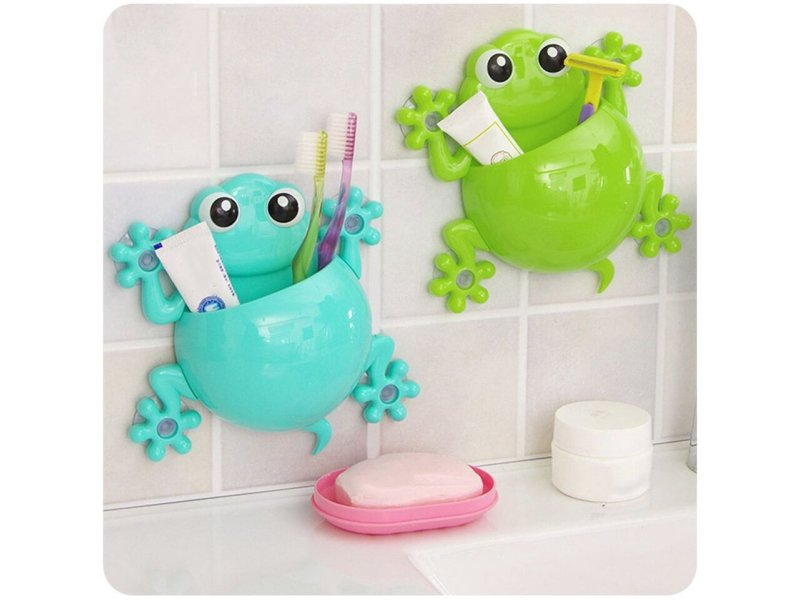 Frog Toothbrush Holder
