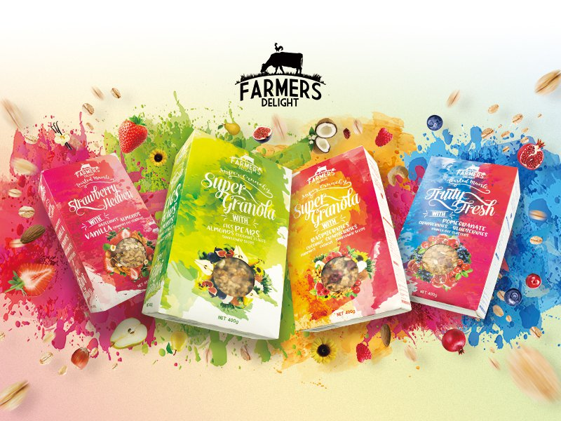 Farmers Delight Cereal - 4 pack