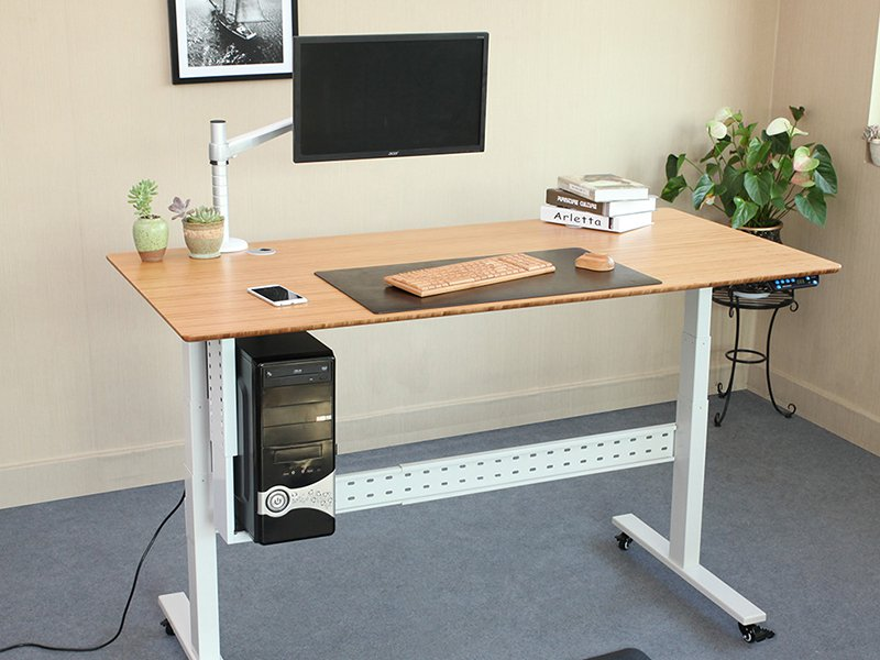 The Uplift CPU Holder For Sit To Stand Desk