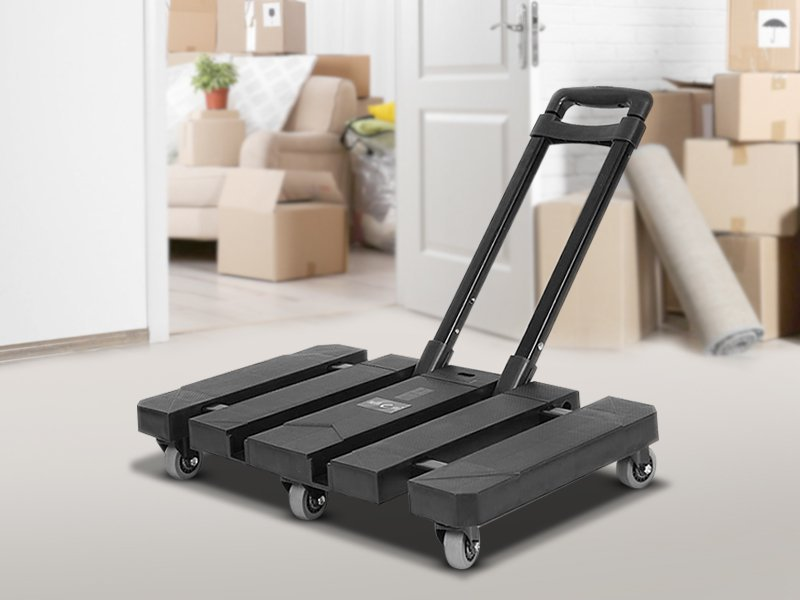 Foldable Moving Trolley - 200kg Capacity