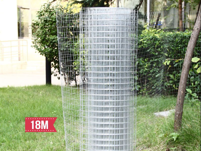 Wire Netting Mesh Galvanised Fence 18m