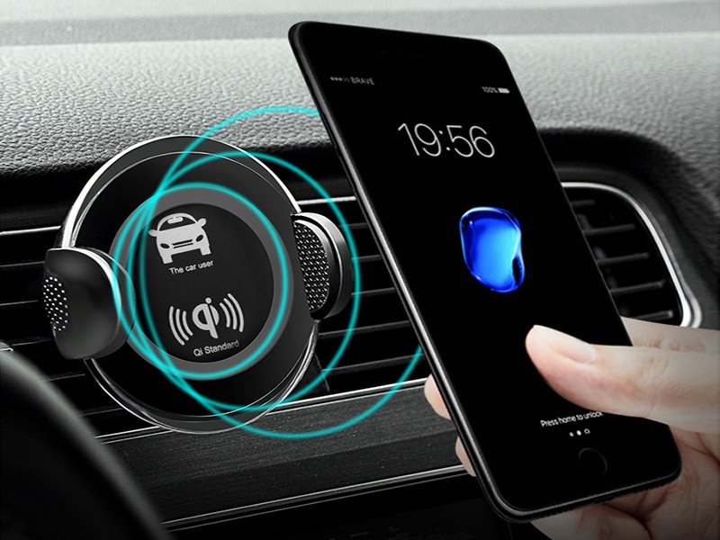 Smartphone Wireless Car Charger