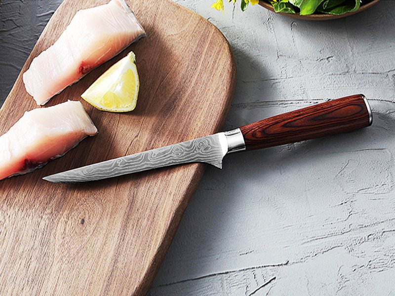 Ergonomic Fish Fillet Knife