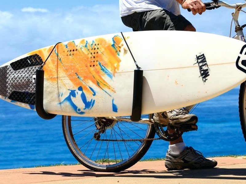 Surfboard Rack for Bicycle Side Load