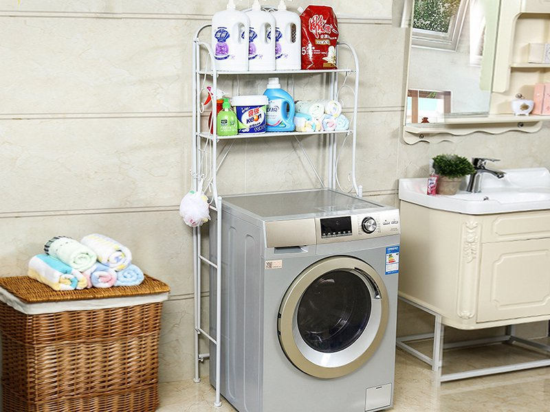2 Tier Toilet/Bathroom/Washing Machine Rack