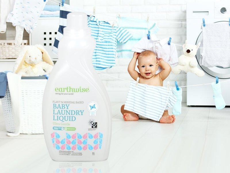 Earthwise Laundry Liquid Ultra Gentle for Baby 1L