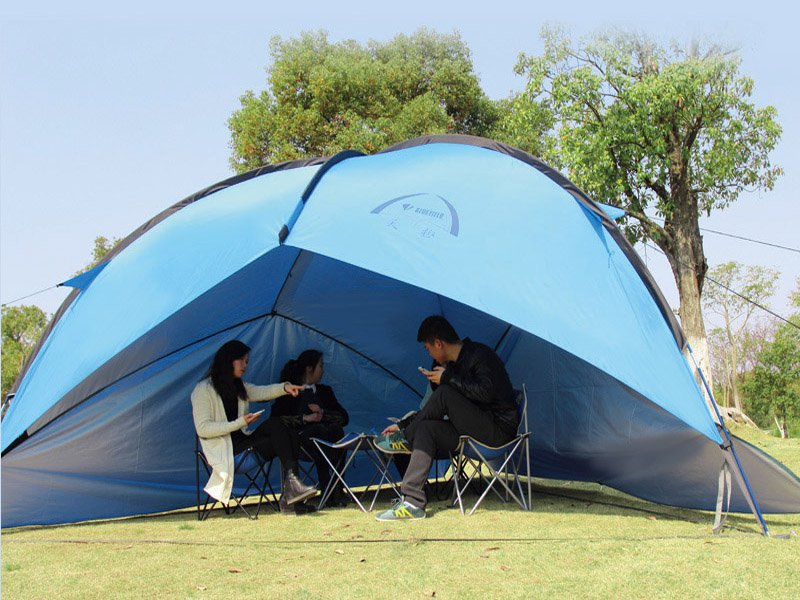 Outdoor Camping Tent - Blue