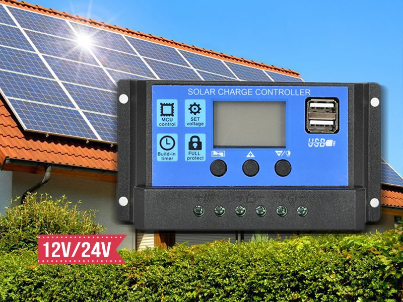 20A Solar Panel Regulator Charge Control