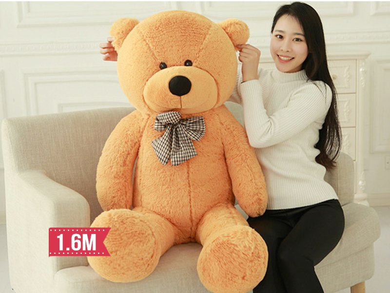 Teddy Bear- Light Brown 160 cm