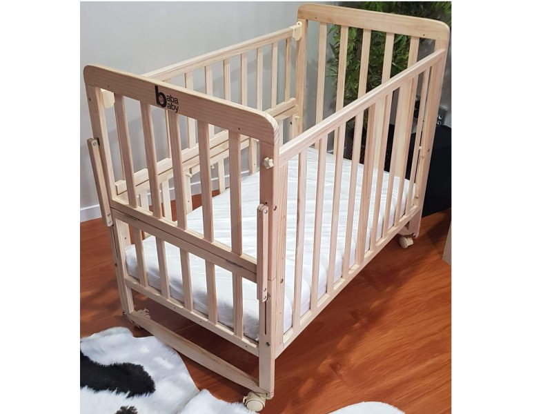 Baby Cot with Natural Coir Mattress