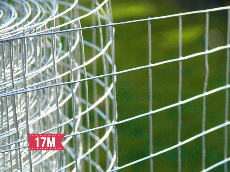 Wire Netting Mesh Galvanised Fence 17M