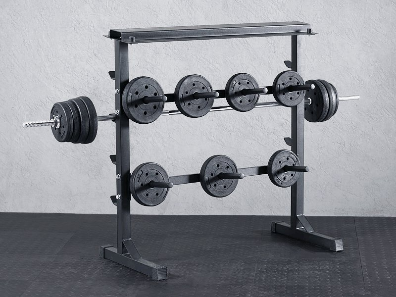 2 Level Weight Storage Rack