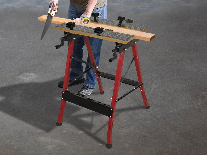 Adjustable Work Bench-black