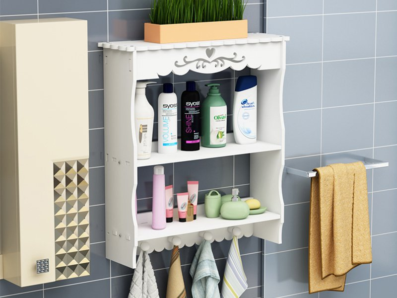 Wall Mount Bathroom Shelf