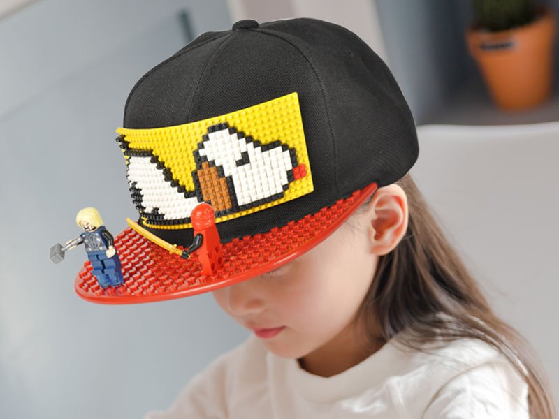 Customizable Lego Cap