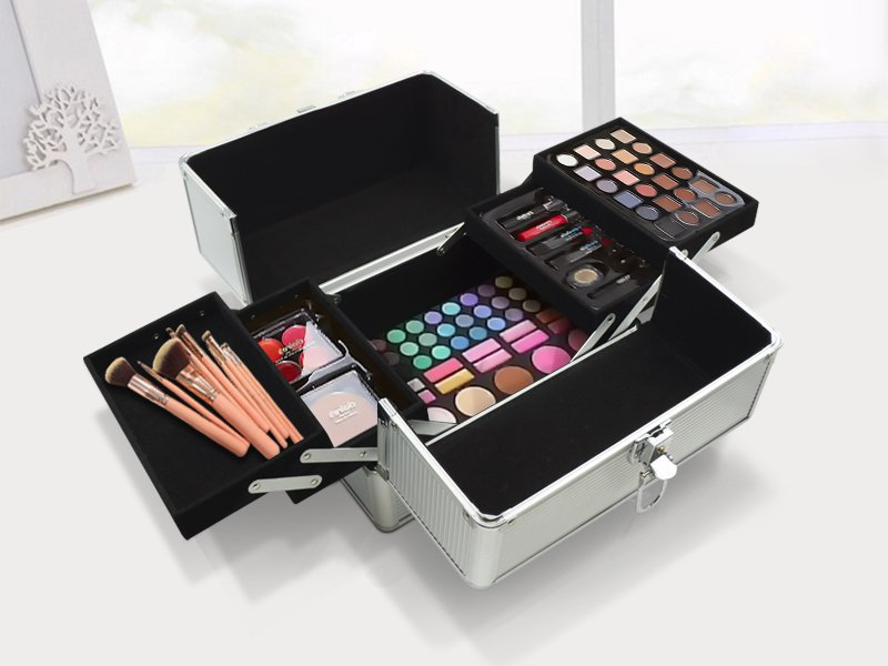 Aluminium Cosmetic  Storage Box