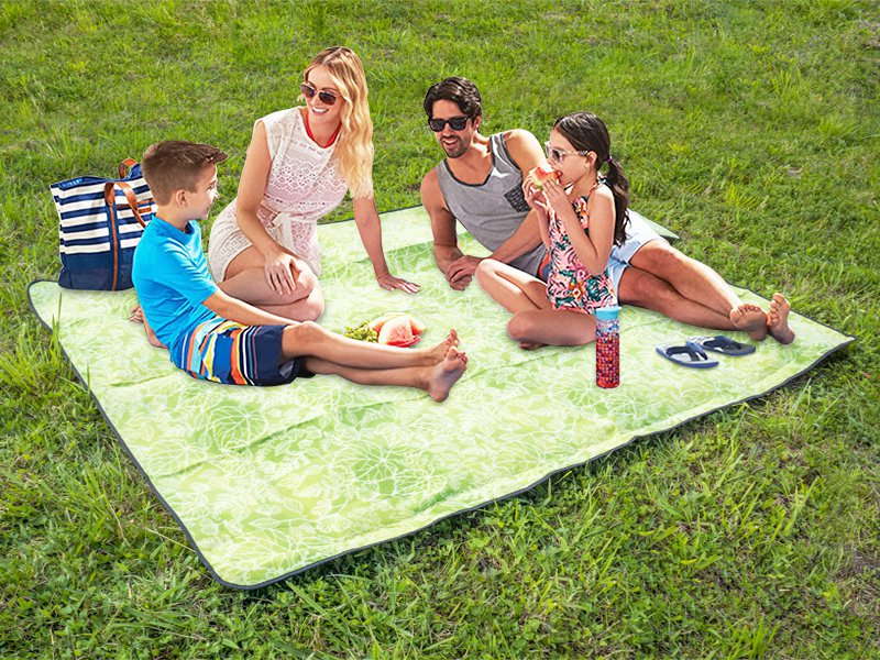 Portable Beach Mat - Green