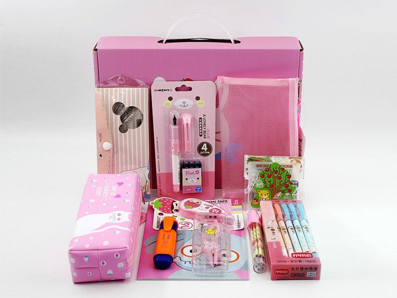 Kids Stationary Set - Pink