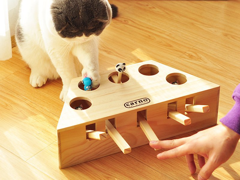 Whac-a Mole Toy for Cats