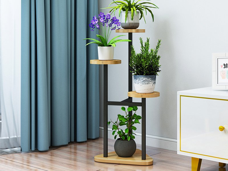 Triangular Flower Stand