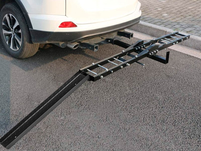 Motorcycle Car Carrier Rack With Ramp