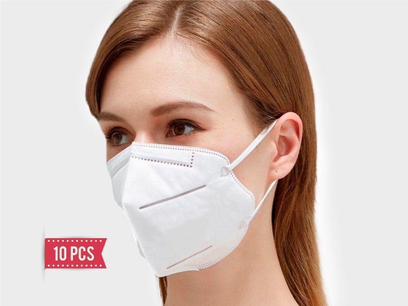 KN95 Respirator Face Mask-10 Pcs (Arrive by air)