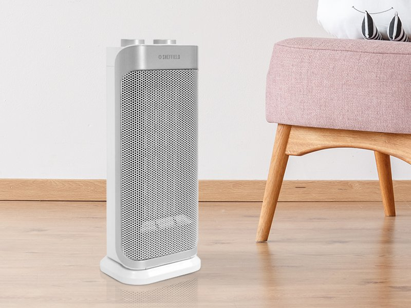 CERAMIC TOWER FAN HEATER