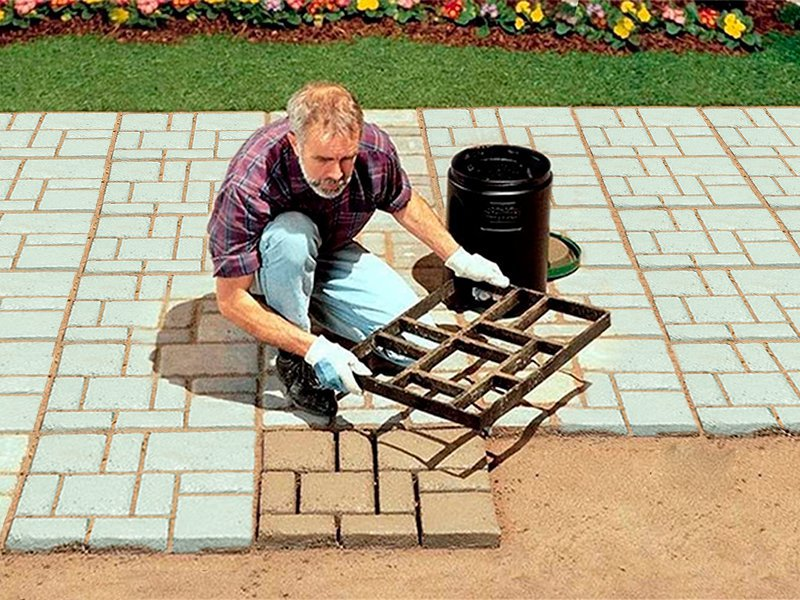 Walkway Paving Mould