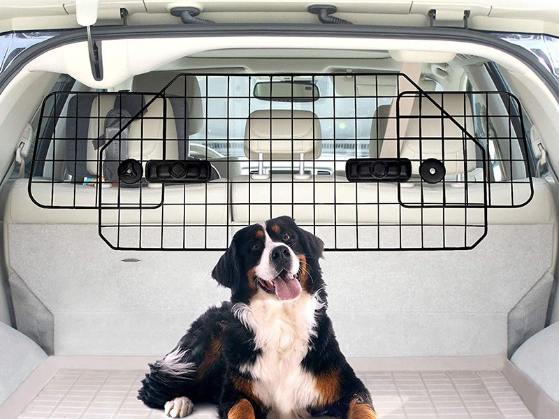 Adjustable Car Pet Barrier For SUV Wagon
