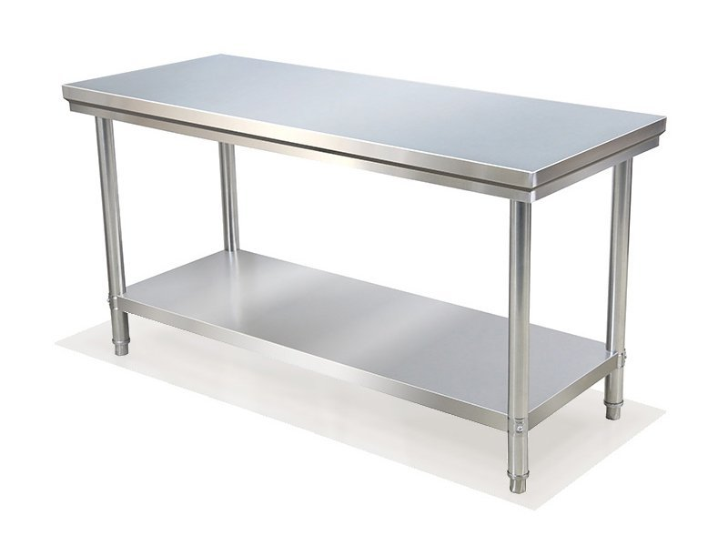 Stainless Steel Commercial Kitchen Worktop Bench