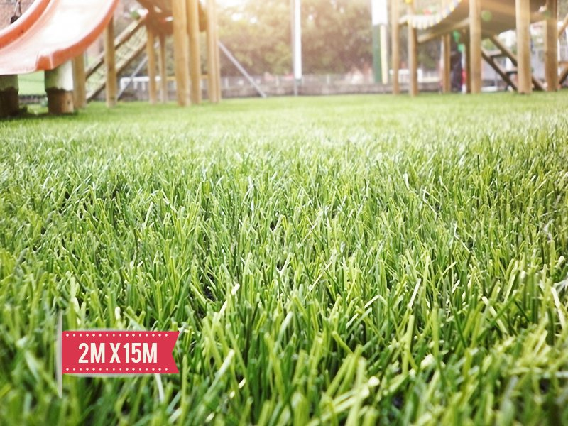 Artificial Lawn Turf 2m x 15m