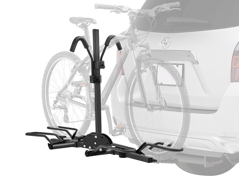 Universal Hitch Mount Dual Bike Car Carrier Rack