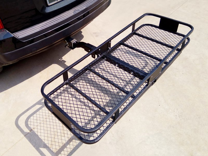 Car Cargo Rack Hitch Mount Mesh With Folding Shank