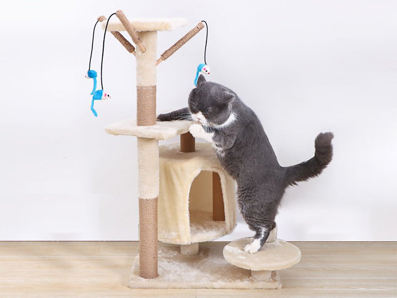 Cat Tree House Tower