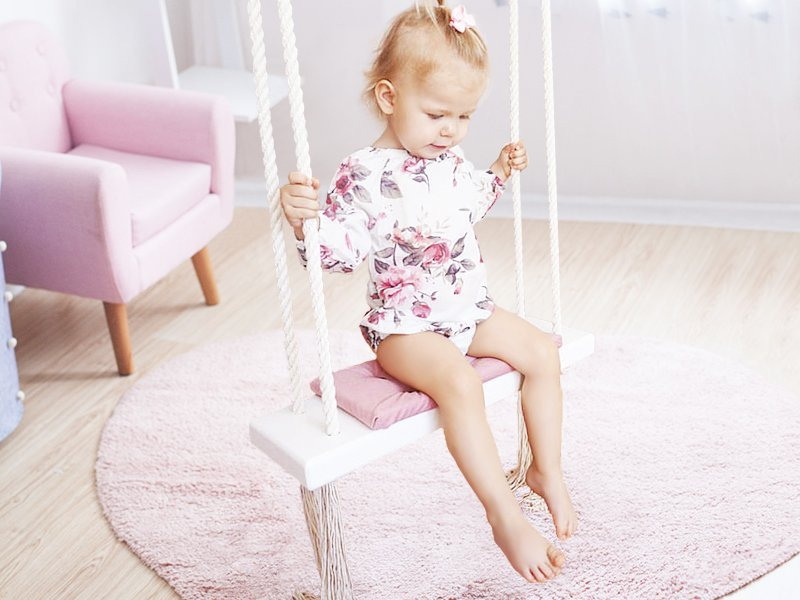 Indoor/Outdoor Swing for Kids