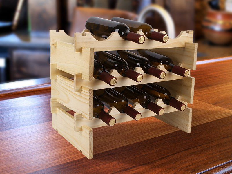Wine Rack Storage Organiser