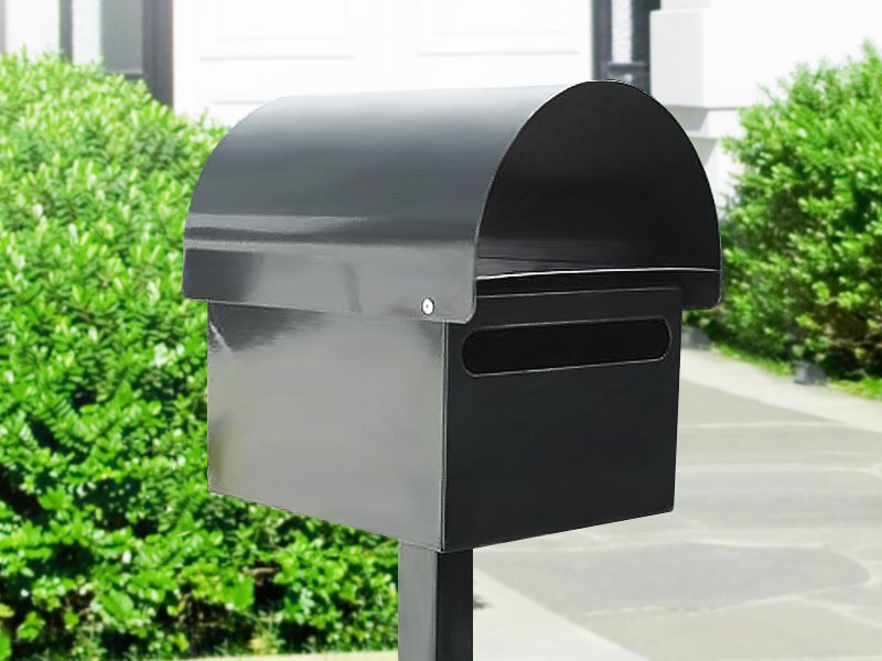 Letterbox With Lockable Rear Door