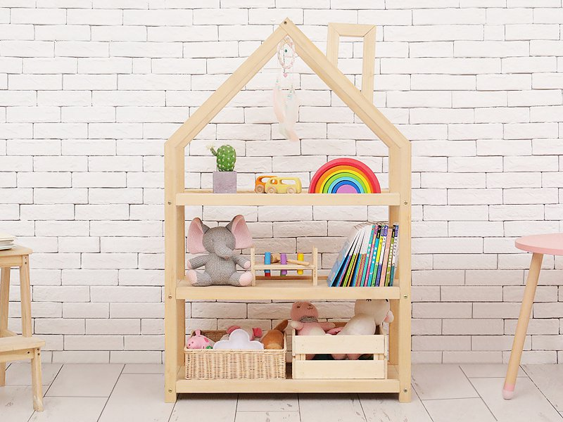 Kid's House Bookshelf