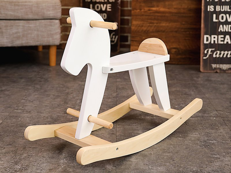 Kid's Wooden Rocking Horse