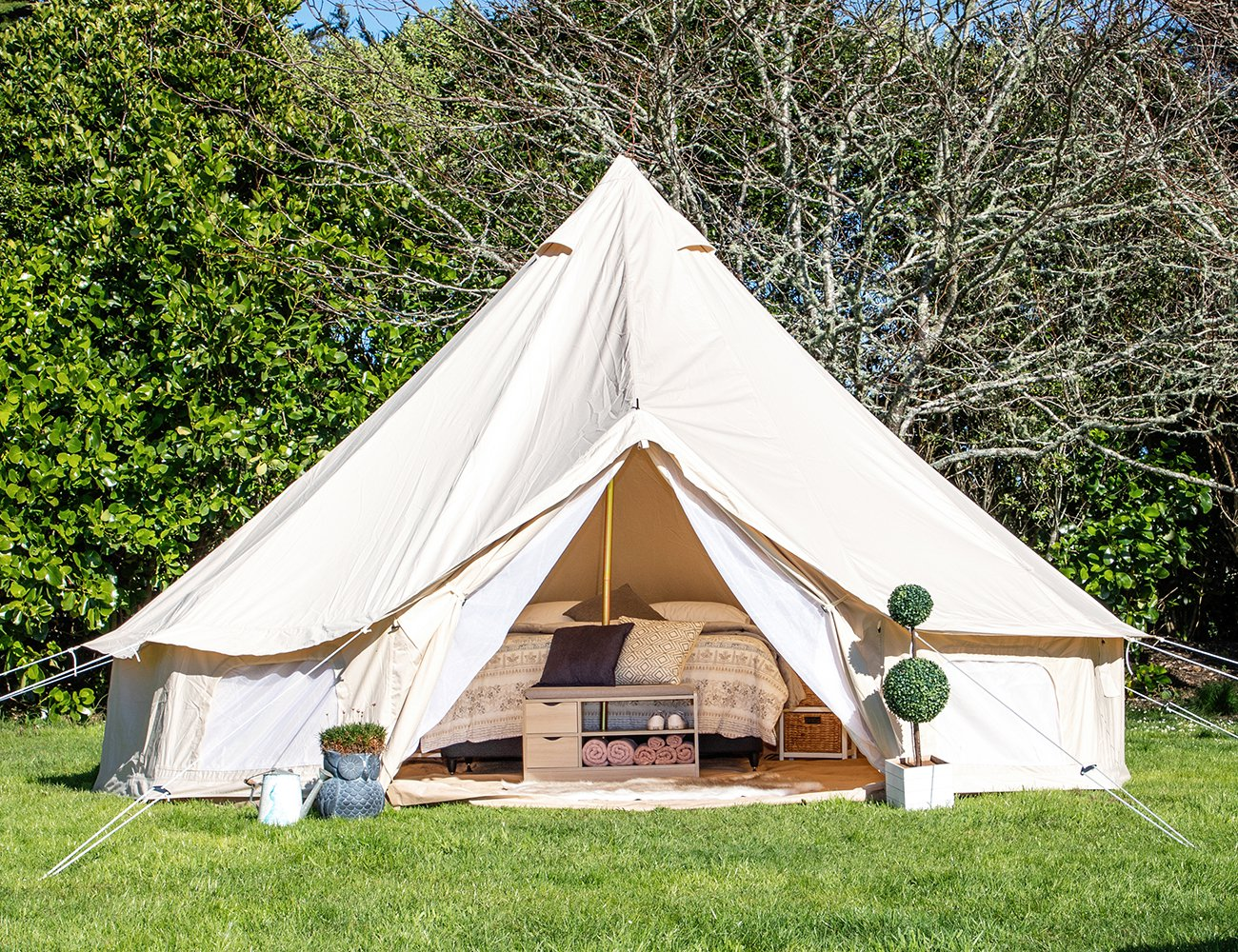 Living Culture 5m Glamping Bell Tent