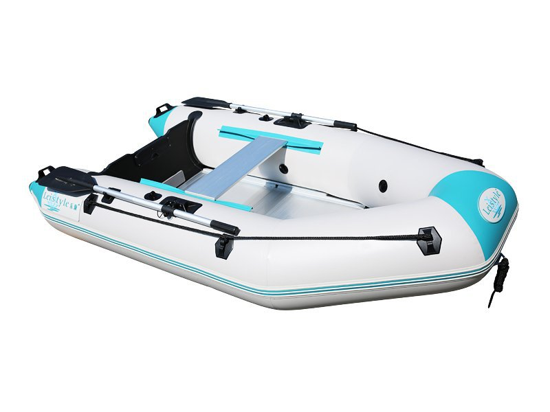 Inflatable Assault Boat Dinghy 2.3m - White+Green