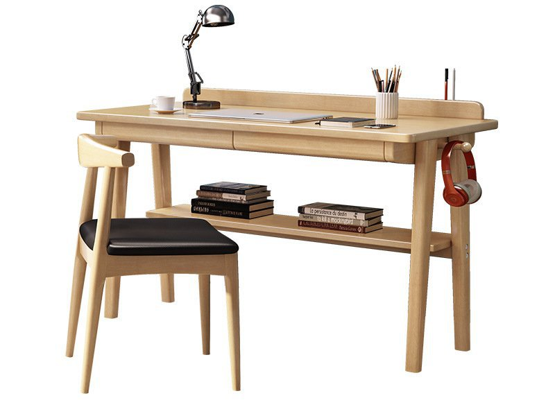 Wooden Study Desk & Chair